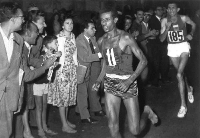 Abebe Bikila, le coureur éthiopien aux pieds nus