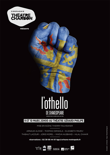 Affiche du spectacle L'Othello