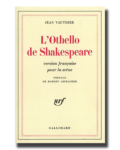 l'Othello de William Shakespeare